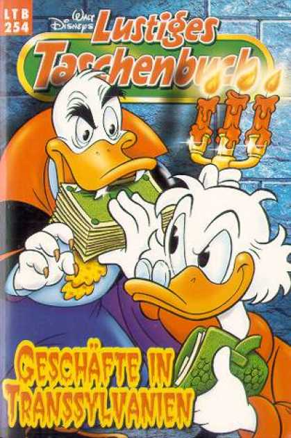 Lustiges Taschenbuch 256 - Walt Disneys - Money - Candle - Scrooge - Vampire