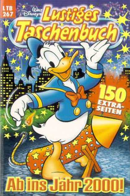 Lustiges Taschenbuch 269 - Walt Disney - Rocket - Stars - Red Bow - Donald Duck