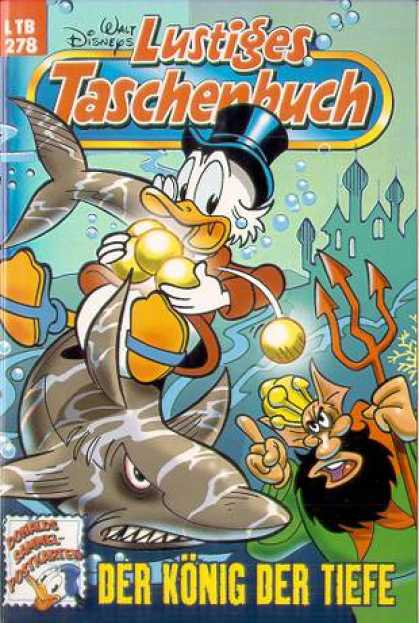 Lustiges Taschenbuch 280 - Disney - Donald Duck - Shark - Poseidon - Underwater