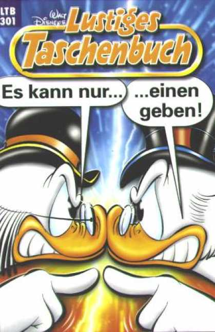 Lustiges Taschenbuch 323 - Top Hat - Glasses - Duck - Scrooge - Walt Disney