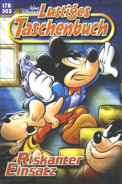 Lustiges Taschenbuch 325 - Walt Disney - Mickey Mouse - Gun - Riskanter - Bad Wolf