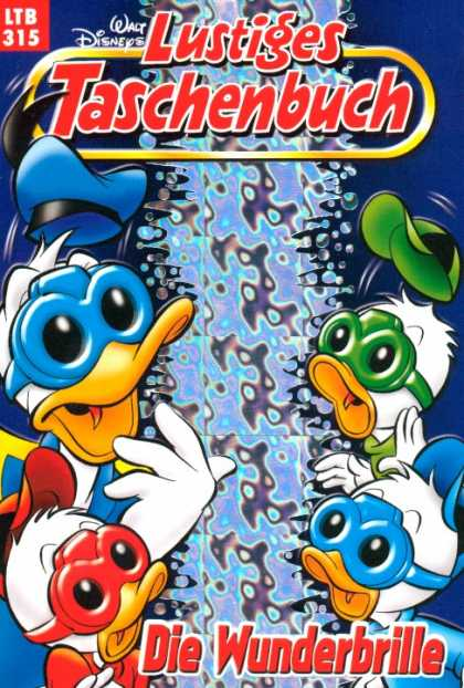 Lustiges Taschenbuch 337 - Ducks - Wonder Glasses - Water - Ltb 315 - Hats