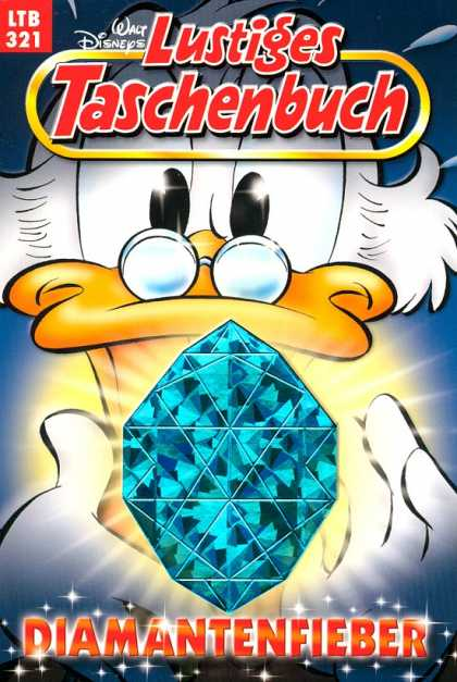 Lustiges Taschenbuch 343 - Diamantenfieber - Blue Diamond - Duck - Disney - Glasses
