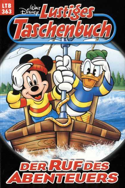 Lustiges Taschenbuch 405 - Donald Duck - Mickey Mouse - Boat - White Mountain - Ltb 363