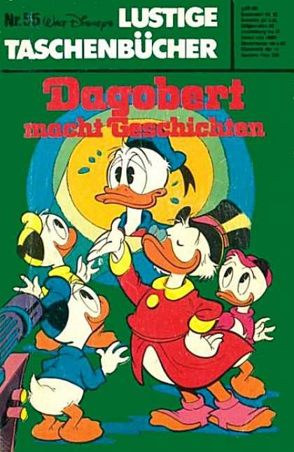 Lustiges Taschenbuch 55 - Walt Disneys - Dagobert - Scrooge - Ducks - Projector