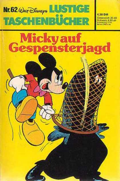 Lustiges Taschenbuch 62 - Micky Auf Gespenterjagd - Ghosts - Micky Mouse - Haunted - Hunt