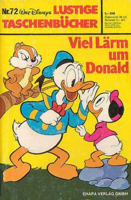 Lustiges Taschenbuch 72 - Donald - Squirrel - Shouting - No 72 - Tick Trick U0026 Track