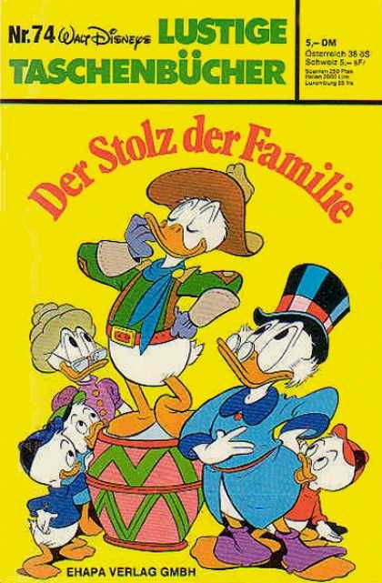 Lustiges Taschenbuch 74 - Donald Duck - Scrooge - Cowboy - Top Hat - Gloves