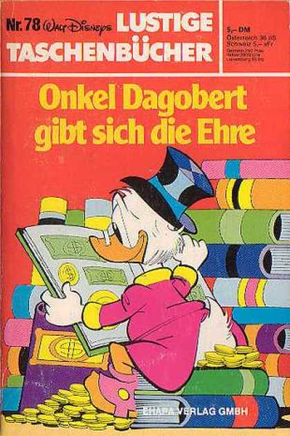 Lustiges Taschenbuch 78 - German - Scrooge - Duck - Books - Money