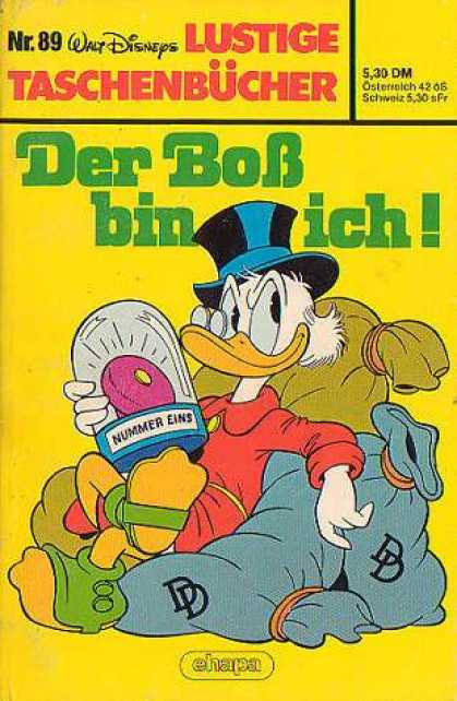 Lustiges Taschenbuch 89 - German - Walt Disney - Duck - Scrooge - Top Hat