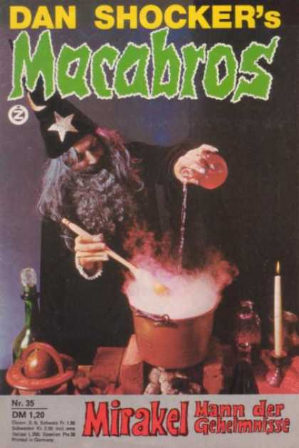 Macabros - Mirakel, Mann der Geheimnisse - Wizard - Mirakel - Dan Shocker - Candle - Magic Potion