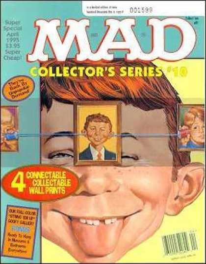 Mad Special 103 - Collectors Series - Homemade Can Telephone - Big Ears - April - Gap Teeth