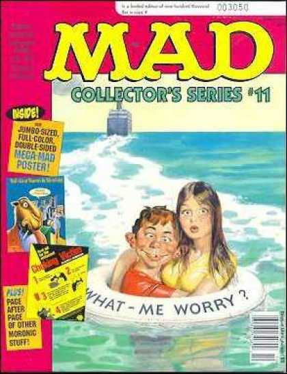 Mad Special 106 - Worry - Inner Tube - Ocean - Survival - Embrace