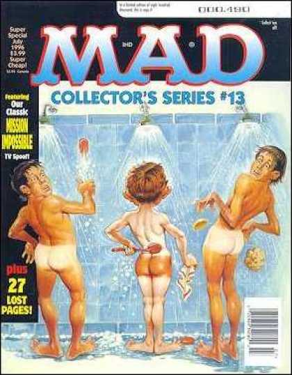 Mad Special 114 - Shower - Tan Lines - Mission Impossible - 27 Lost Pages - Alfred E Newman