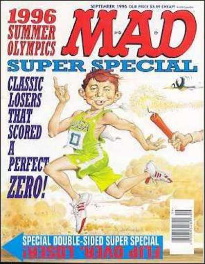 Mad Special 115 - Cheap - 1996 Summer Olympics - Losers - Relay Race - Firecracker
