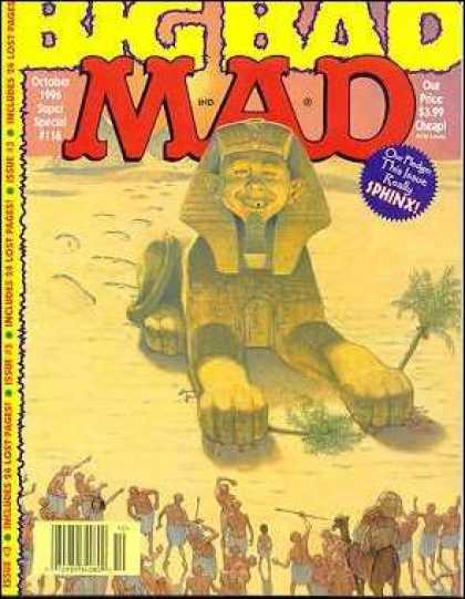 Mad Special 116 - Sphinx - Desert - Tree - Egypt - Footsteps