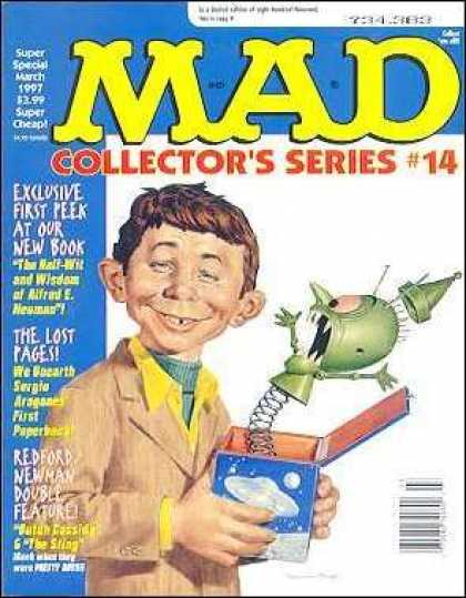 Mad Special 119 - Collectors Series 14 - Jack In The Box - Brown Blazer - March 1997 - The Lost Pages