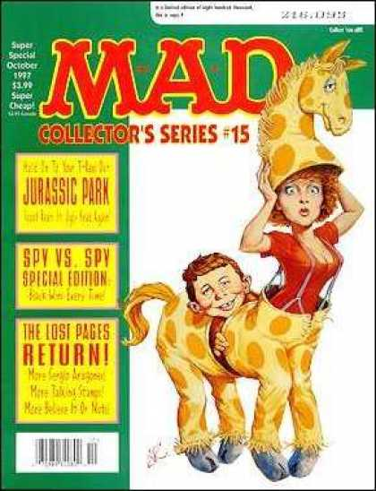 Mad Special 124 - Giraffe - Costume - Animals - Jurassic Park - Spy Vs Spy