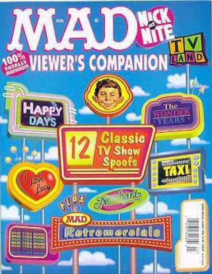 Mad Special 127 - Mad - Viewers Companion - Signs - Happy Days - Wonder Years