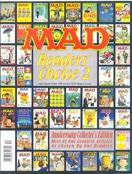 Mad Special 131 - Mad Readers Choice 2 - Anniversary Collectors Edition - Readers - End - Greatest Articles