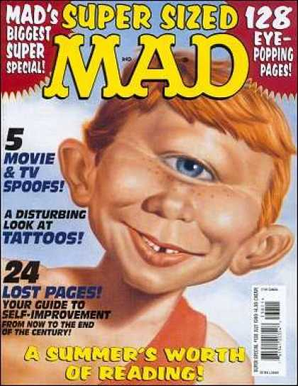 Mad Special 138 - Cyclops - Tattoos - Biggest Super Special - Freckles - Red Hair
