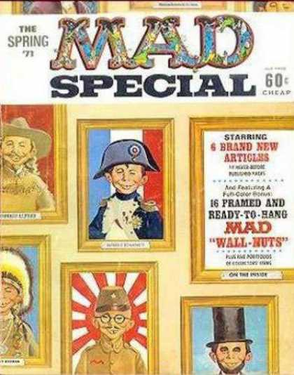Mad Special 2 - The Spring - Cheap - 6 Brand New Articles - Wall-nuts - Ready To Hang