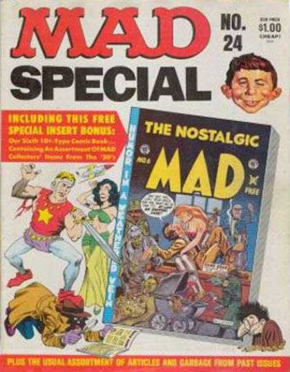 Mad Special 24 - Sword - Big Nose - Babycarriage - Special - Number 24