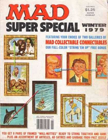Mad Special 29 - Winter 1979 - Portraits - Art - Picture Frames - Lions