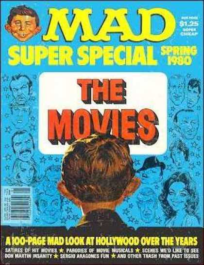 Mad Special 30 - The Movies - Spring 1980 - Boy Face - Satires Of Hit Movies - Don Martin Insanity