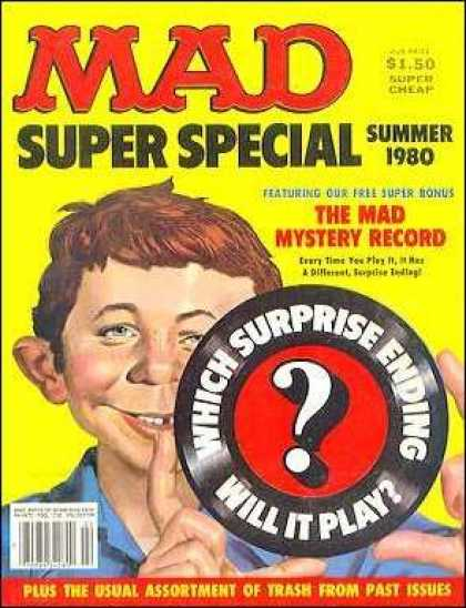 Mad Special 31 - Surprise - Mystery - Summer 1980 - Trash - Ending