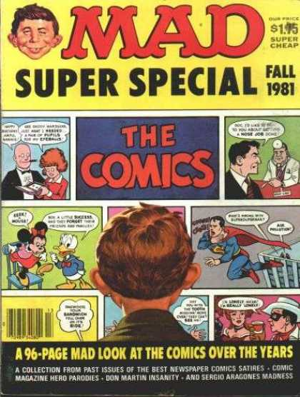 Mad Special 36 - Mad - Fall 1981 - Super Special - 96-page Comics Over The Years - The Comics