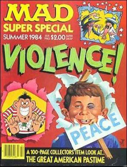 Mad Special 47 - Mad - 1984 - Collectors Item - Violence - Peace