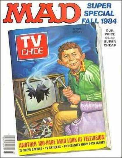 Mad Special 48 - Tv Chide Parody - Tv Guide Parody - Mad Guide To Television - Tv Show Satires - Funny Tv Articles