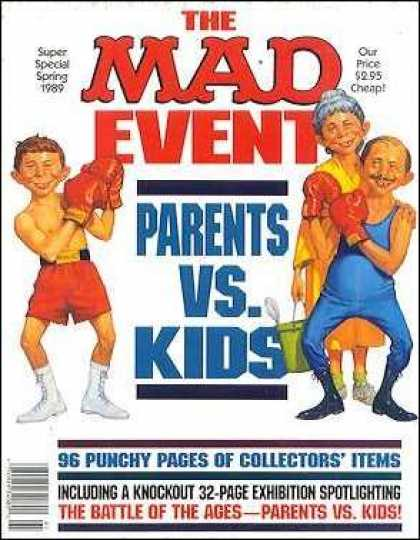 Mad Special 66 - Super Special Spring - Boxer - Parents Vs Kids - Woman - 96 Punchy Pages Of Collectors Items