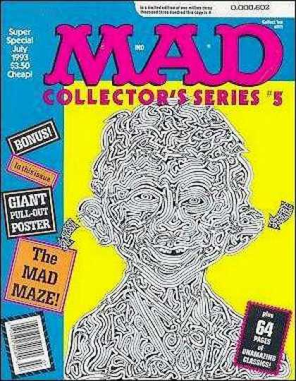Mad Special 88 - Maze - July 1993 - Arrows - Pull-out Poster - Collectors Series