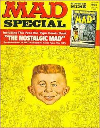 Mad Special 9 - The Nostalgic Mad - Number Nine - Child - Including This Free 10c-type Comic Booc