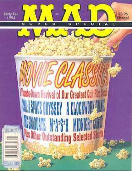 Mad Special 99 - Early Fall 1994 - Movie Classics - 395 Cheap - A Space Odyssey - Mash
