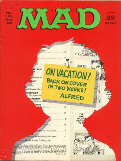 Mad 130 - Mad - On Vacation - Two Weeks - Girl - Story