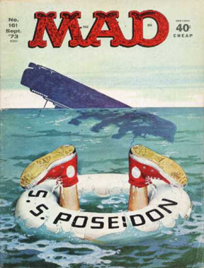 Mad 161 - Capsized - Shipwreck - Rms Titanic - Drowning - Ocean Adventure