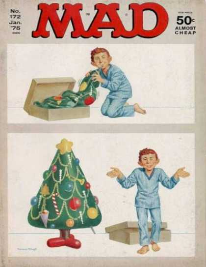 Mad 172 - Blow Up Tree - Christmas Tree - Boy Christmas - Christmas Tree How To - Cheap Christmas Tree