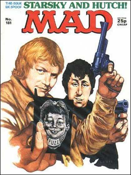 Mad 181 - Starsky - Hutch - Fuzz - Spoof - Pistol
