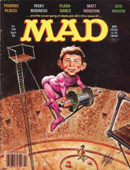 Mad 246 - Trading Places - Risky Business - Flash-dance - Matt Houston - Don Martin