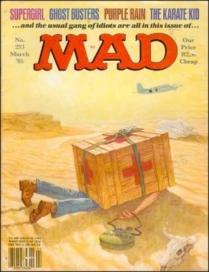 Mad 253 - Desert - Airplane - Supergirl - Crate - Mad