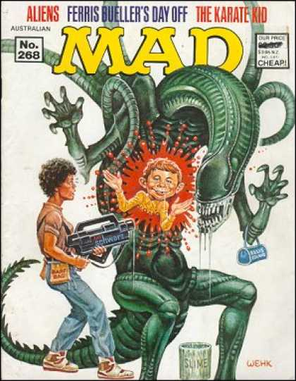 Mad 268 - Alien - Aliens - Harvey Kurtzman, Will Elder