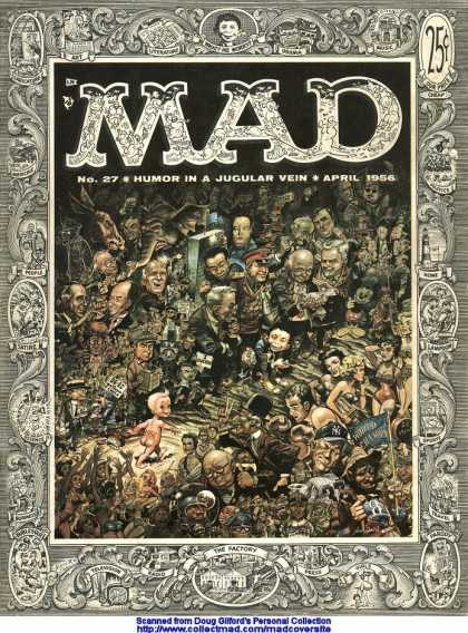 Mad 27 - Mad Magazine - Humor - People - Funny - Book