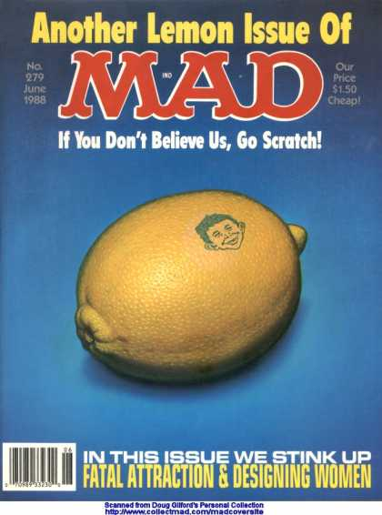 Mad 279 - Lemon