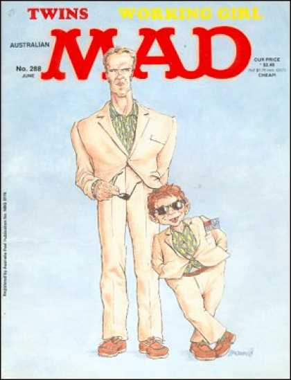 Mad 288 - Twins - Movie - Comedy - Australian - Arnold