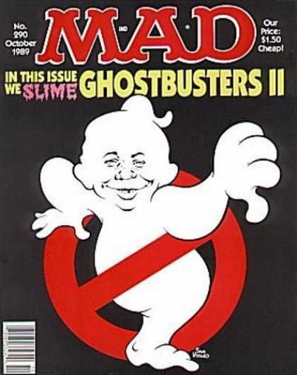 Mad 290 - Ghostbusters Ii