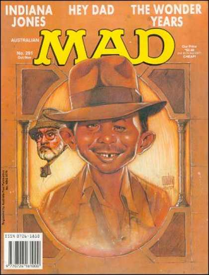 Mad 291 - Indiana Jones - Hey Dad - The Wonder Years - Old Man - Cowboy Hat