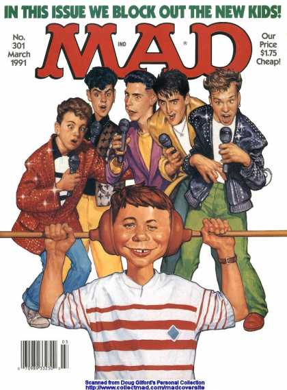 Mad 301 - Block Out The New Kids - Plunger - Rhindstones - Donnie Walburg - Joey Mcintire